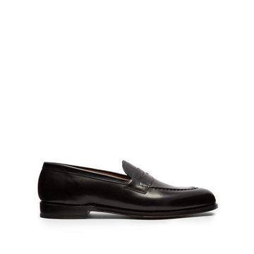 Grenson - Lloyd Leather Penny Loafers - Mens - Black