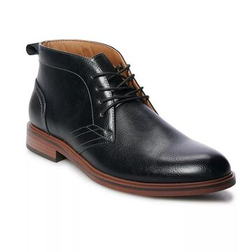 Sonoma Goods For Life Aaron Men's Chukka Boots, Size: Medium (13), Black