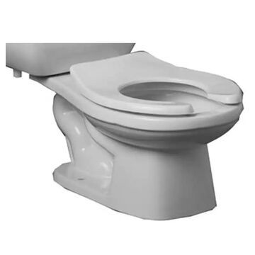 PROFLO PF1704BBHE High Efficiency Elongated Toilet Bowl Only White Fixture Toilet Bowl Only