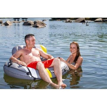 Poolmaster DLX River Cruiser Lounge with Launcher