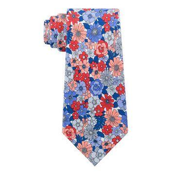 Men's Croft & Barrow Bright Botanical Skinny Tie