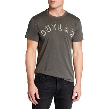 Men's Outlaw Printed Cotton T-Shirt