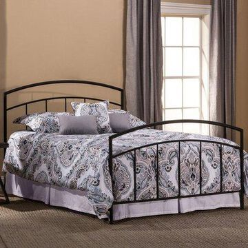 Hillsdale Furniture Julien Metal Full Bed, Textured Black