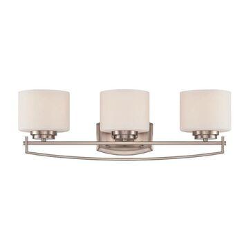 Designers Fountain Axel 3-Light Gray Modern/Contemporary Vanity Light