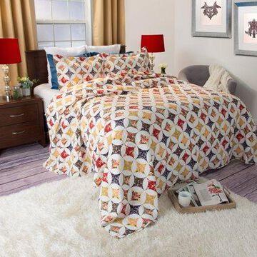 Somerset Home Printed Cassandra Quilt Bedding Set