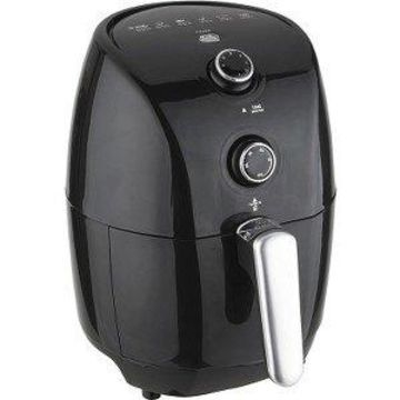 Brentwood AF-15MBK 1.6 qt. Air Fryer Handle with Stainless Steel