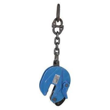 VESTIL CPC-20 Vertical Plate Clamp With Chain,2000 lb.