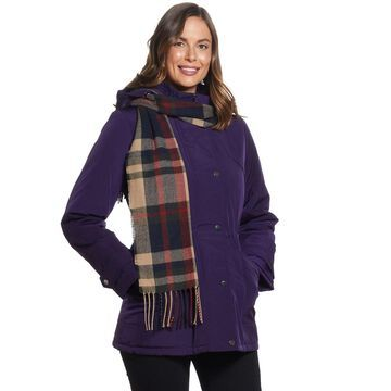 Women's Gallery Hooded Anorak with Scarf