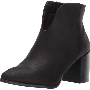 Report Womens texas Suede Pointed Toe Ankle Chelsea Boots