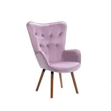 Porthos Home Fosco Arm Chairs For Living Room, Wingback in Velvet