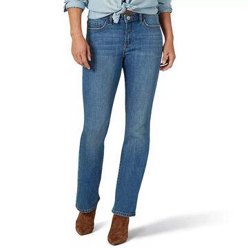 Women's Lee Legendary Regular Fit Bootcut Jeans, Size: 18 Short, Med Blue