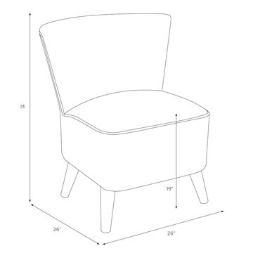 Skyline Furniture Accent Chair in Mystere