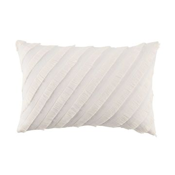 LC Lauren Conrad Fringe Oblong Throw Pillow