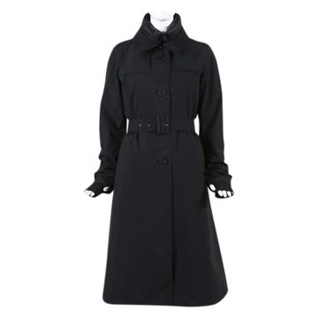 Herno Black Polyester Trench coats