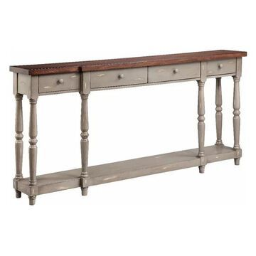 Stein World Simpson 13134 Console Table, French Gray