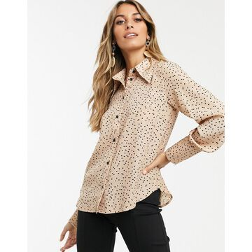 Y.A.S 70s shirt with volume sleeve