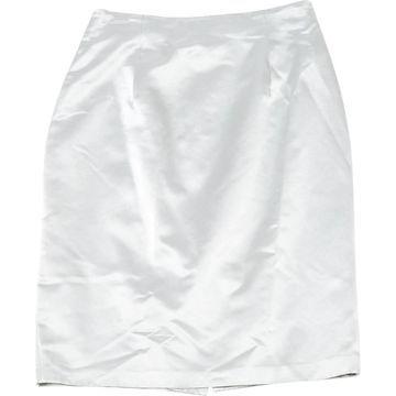 Nina Ricci Grey Cotton Skirts