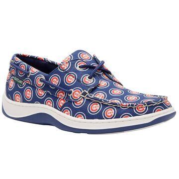 Eastland Chicago Cubs Blue Summer Boat Shoes