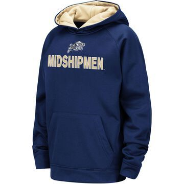 Colosseum Youth Navy Midshipmen Navy Pullover Hoodie