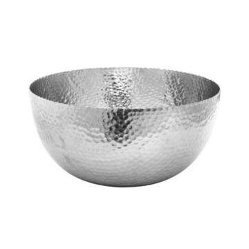 "St. Croix Kindwer Large 14"" Hammered Aluminum Petal Bowl"