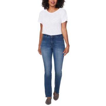 Nydj Barbara Contoured-Back Tummy-Control Jeans