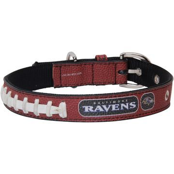 Baltimore Ravens Classic Leather Collar - Brown