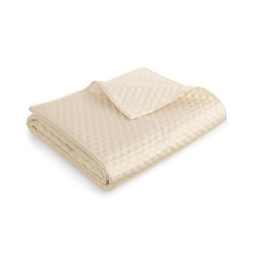 Dimensions Champagne King Coverlet, Created for Macy's