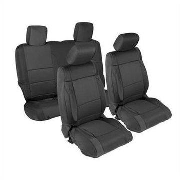 Smittybilt 471501 Seat Covers Black Neoprene For 13-15 Jeep JK Wrangler 2-Door