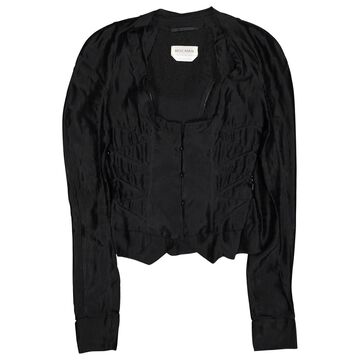 Rochas Black Polyester Jackets