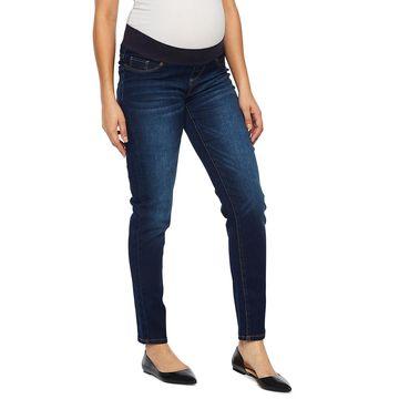 Belle & Sky Maternity Demi Panel Skinny Jean