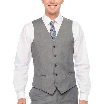 JF J.Ferrar Ultra Comfort Slim Fit Suit Vest