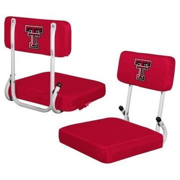 NCAA Logo Brands Hard Back Stadium Seat