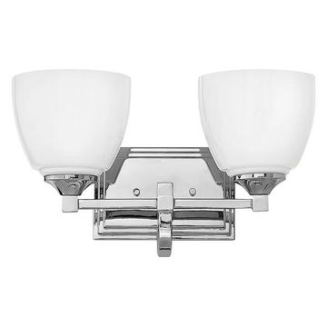 Hinkley Lighting 5602 Faye 2-Light Bathroom Vanity Light