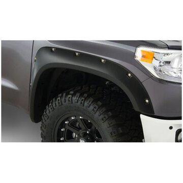 Bushwacker 14-18 Toyota Tundra Pocket Style Flares 2pc - Black