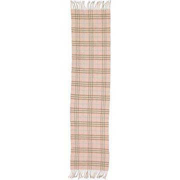 Burberry Pink Wool Scarves