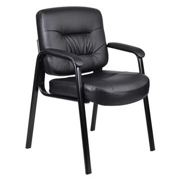 Boss B7509 Boss Executive Mid Back Leatherplus Guest Chair