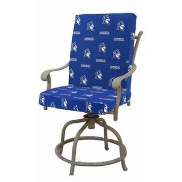 College Covers Fan Shop Duke Blue Devils 2pc Chair Cushion - 20 x 46 in