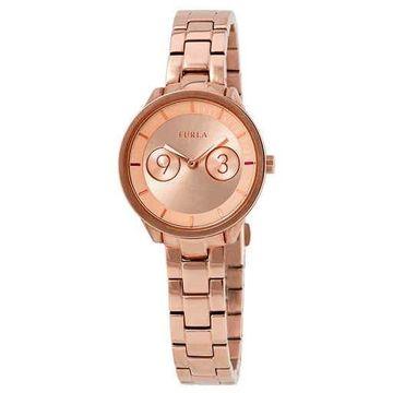 Furla Metropolis Rose Gold Dial Ladies Watch R4253102518
