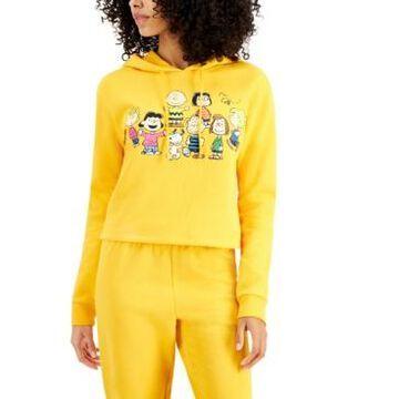 Peanuts Juniors' Graphic-Print Fleece Hoodie