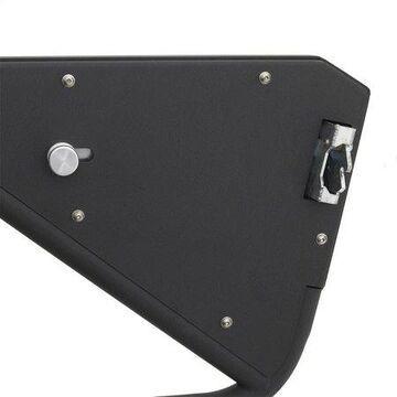 Smittybilt SRC Front Tubular Doors (Textured Black) - 76793