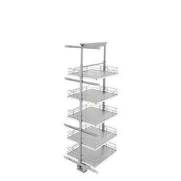Rev-A-Shelf 19-in W x 58.25-in H 5-Tier Pull Out Metal Soft Close Baskets & Organizers