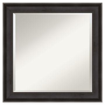 Amanti Art Allure Wall Mirror in Charcoal