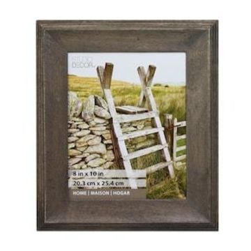 Gray Wooden Frame, Home Collection By Studio Decor