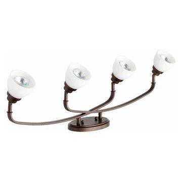 Quorum International 3860-4 Reyes 4 Light Semi-Flush Ceiling Fixture