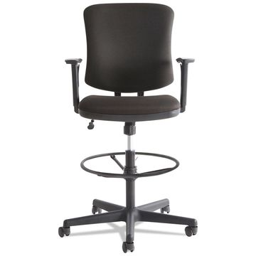 Alera Everyday Task Stool Black Fabric TE4610