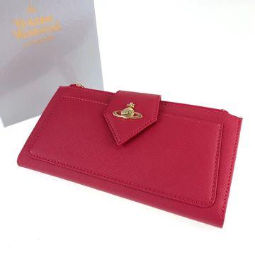 Vivienne Westwood Pink Leather Wallets