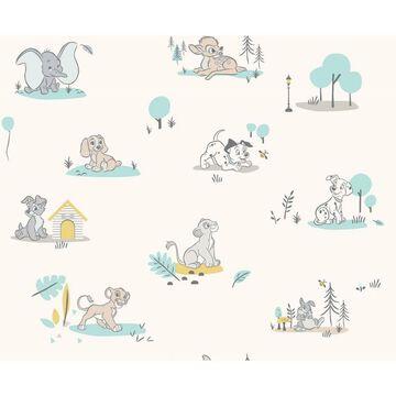 Disney Baby Animals Peel and Stick Wallpaper - RoomMates