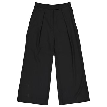 Dries Van Noten Black Wool Trousers