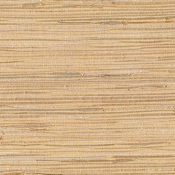Kenneth James Makoto Peach Grasscloth Wallpaper
