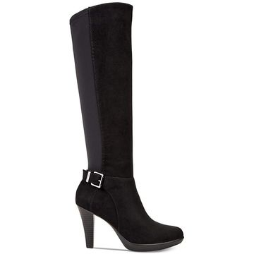 Alfani Womens Vennussf Almond Toe Knee High Fashion Boots - 5